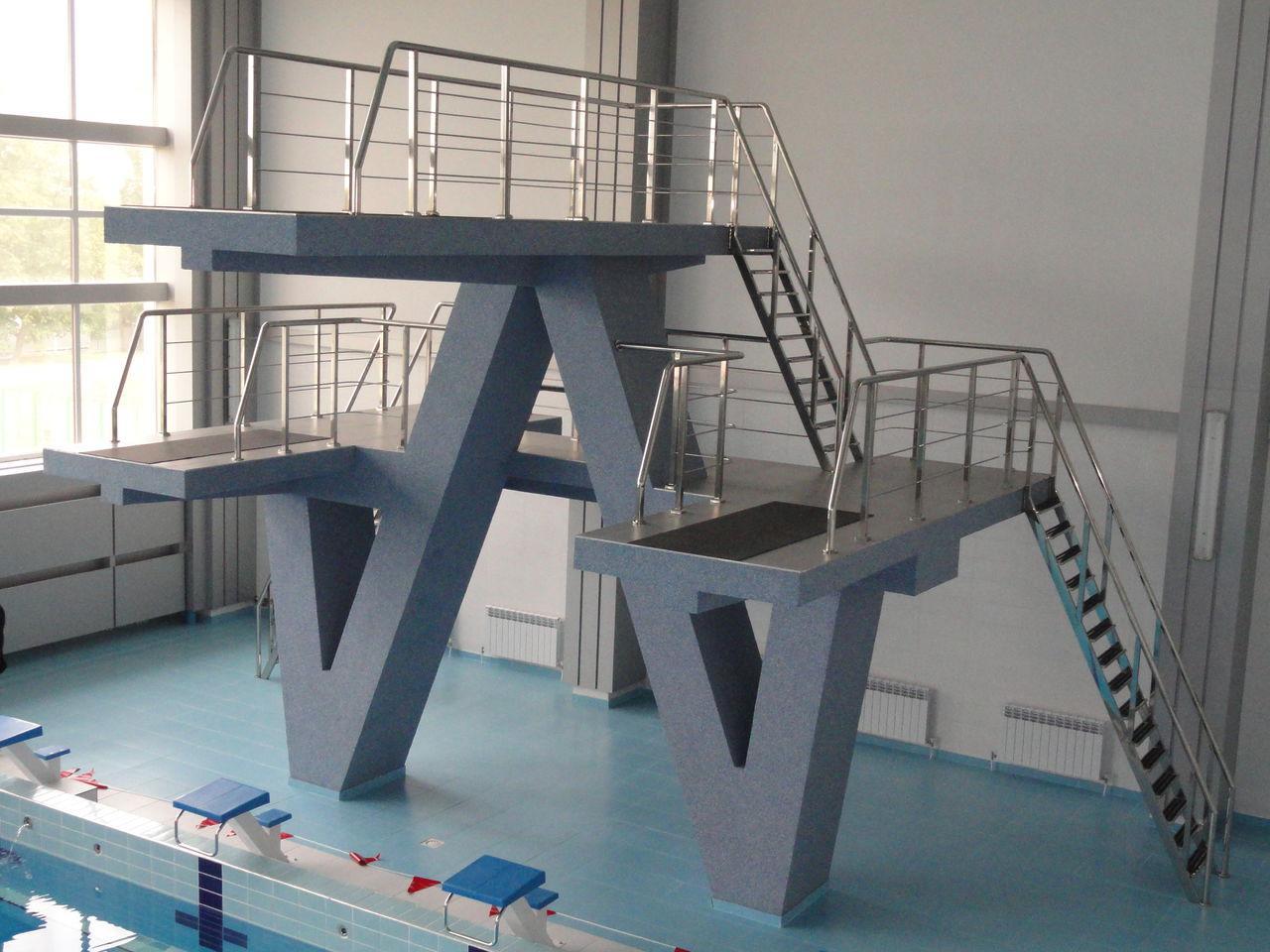 Ограждение вышек в бассейне